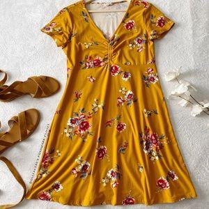 Soft & Stretchy Floral Print Dress